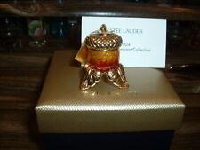 """Estee Lauder Solid Perfume Compact """"Acorn Amulet"""" MIBB"""