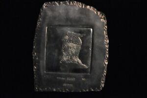 H. Alvin Sharpe .999 Fine Silver Art Bar 152.5 Grams,  4.91 Troy Ounces