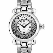 Glam Rock Women's Vintage 40mm Steel Bracelet Swiss Quartz Watch GR28071 NEW