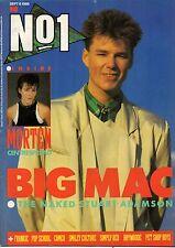 Stuart Adamson on Magazine Cover 6 September 1986   Morten Harket  Pet Shop Boys