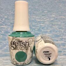 Gelish 1110294 RUFFLE THOSE FEATHERS teal creme gel polish ROYAL TEMPTATIONS