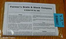 American Model Builders, Inc N #606 Farmer's Grain & Stock Company