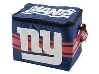 NFL New York Giants Insulated Lunch Tote 6 Pack Cooler Soft Collapsible Nylon