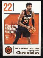 Deandre Ayton Phoenix Suns 2018-19 Panini Chronicles RC Rookie Card #21