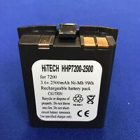 10 Batteries(Japan NiMh 2500mAh)for HHP/Honeywell/LXE Dolphin 7200 #200-00233