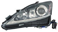 2011 LEXUS IS250 IS350 HID TYPE HEADLIGHT HEAD LAMP UNIT - LEFT