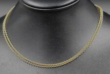 CHOPARD Klassische KETTE | 2-reihig | 2x 2,3mm / 42,5cm | 750er Gold