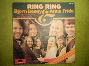 """7""""Single COVER* ABBA - WER IM WARTESAAL DER LIEBE STEHT *SEHR GUT* RAREST POP"""