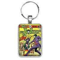 The Joker #9 Cover Key Ring or Necklace Vintage Classic Catwoman Villain Comic