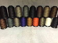 v138 Middleweight Upholstery Leather Thread 4oz spools