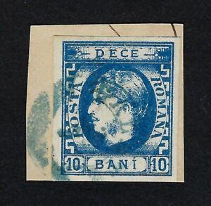 ROMANIA 1871 PRINCE CHARLES 10b Nº 28