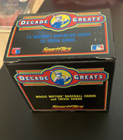 1986 SPORTSFLICS DECADE OF GREATS 75 SUPERSTAR CARDS Mickey Mantle Mays Ruth