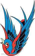 Blue Bird STICKER Decal PP10L Left Facing