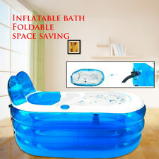 NEW INFLATABLE BATH TUB PORTABLE CAMPING  BLOW UP BLOWUP BATHTUB AU