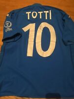 Italia 2002 Totti World Cup Maglia shirt jersey maillot worn issued match Kappa