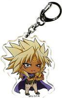 YuGiOh! Keychain Charm Marik Ishtar 20Y x animatecafe Trading Acrylic Key Holder