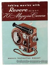Bedienungsanleitung REVERE EIGHT Filmkamera MOVIE CAMERA owners manual (X2522