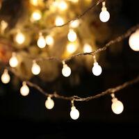 10m 50LED Ball Christmas Tree Fairy String light Party Garland Lights Xmas Lamp