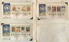United Nations 1986 WFUNA & Trygve Lie FIRST DAY COVERS