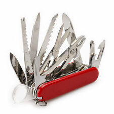 Swiss Army Pocket Knife Folding Multi-Use Tool Camping Survival 30-use Gift