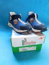 Naturino Kinder Sandalen Havana blau - ein Klettverschluss Größe 30 - ungetragen