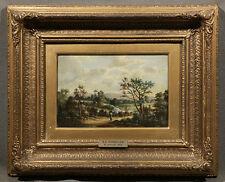 "19th Century Dutch Oil Painting Landscape signed ""B. C. Koekkoek"""