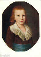 1962 RARE Russian postcard PORTRAIT OF A BOY by P.S.Drozhdin