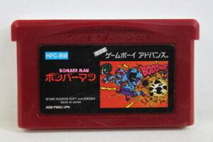 Bomberman / Bomber Man Famicom Mini Gameboy Advance GBA GAME BOY Japan Import