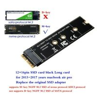 NVMe PCIe M.2 NGFF SSD converter adapter card for 2013 2014 2015 macbook air