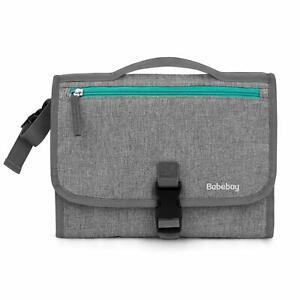 Babebay Portable Diaper Changing Pad w/ Built-in Head Cushion
