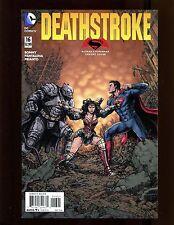 Deathstroke #16 (2014) NM Batman vs Superman Variant Cover Wonder Woman Red Hood