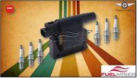 Fuelmiser Ignition Coil +, NGK Spark Plugs Pack suits Nissan Patrol GQ 3.0L RB30