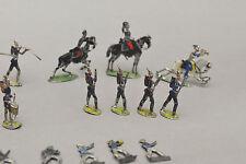 Ancien ensemble soldat miniature plomb ancien figurine plate étain ?