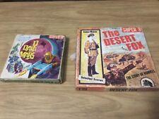 Vintage Super 8 Movie The Desert Fox The Story Of Rommel & D Day On Mars 8 MM