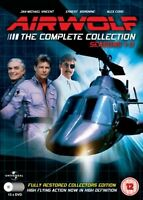 Airwolf TV Series DVD Complete Collection [13 Discs] Box Set: Season 1 2 3 NEW