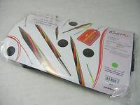 KnitPro Symfonie Holz 8 Paar Nadelspitzen u 4 Seile Deluxe Set, Seilverbinderset