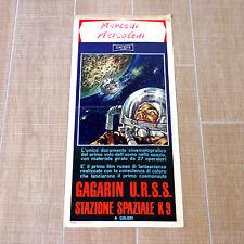 STAZIONE SPAZIALE K9 locandina poster affiche Yuri Gagarin Небо зовет AF83