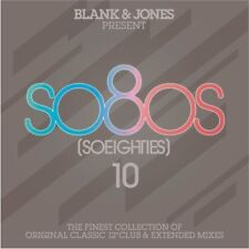 BLANK & JONES - PRESENT SO8OS [SO EIGHTIES] 10 (DELUXE BOX) 3 CD NEU