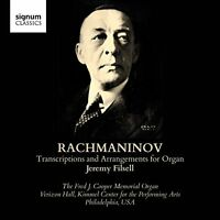 Jeremy Filsell - Rachmaninov: Transcriptions and Arrangements for Organ [CD]