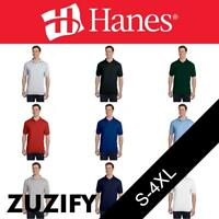 Stedman by Hanes  Jersey Knit Sport Shirt with Pocket. 0504
