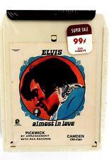 ELVIS PRESLEY Almost In Love 8 Track Cassette Tape SEALED PICKWICK CAMDEN Rc '70