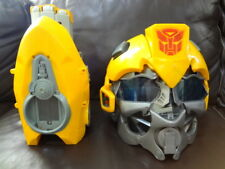 Transformers Bumblebee Talking Voice Mixer HELMET with CANNON Hasbro  For Parts