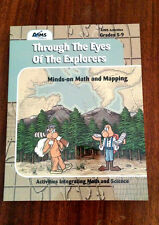 NEW Through the Eyes of the Explorers : Minds-on Math and Mapping BRAND NEW!!