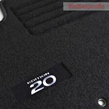 Velours Edition Fußmatten Autoteppiche für Hyundai i20 ab Bj.01/2010 - 2012