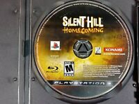 Silent Hill: Homecoming (Sony PlayStation 3, 2008) PS3 Disk Only Horror Survival