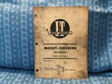 Massey-Ferguson Mf25, Mf130 Shop / Repair Manual