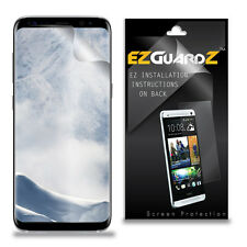 2X EZguardz Clear Screen Protector Shield HD 2X For Samsung Galaxy S8 Plus