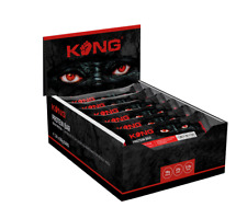 PROTEIN BARS-FITNESS- GYM SNACK- KONG CARAMEL CARNAGE PROTEIN BARS X24