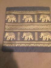 """Decorative Elephant Print Pillowcase 16"""" x 16"""""""