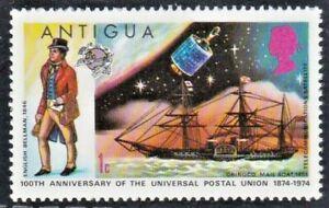 ANTIGUA 1974 SG387 1c. CENTENARY OF U.P.U, eGrade Certified XF 94